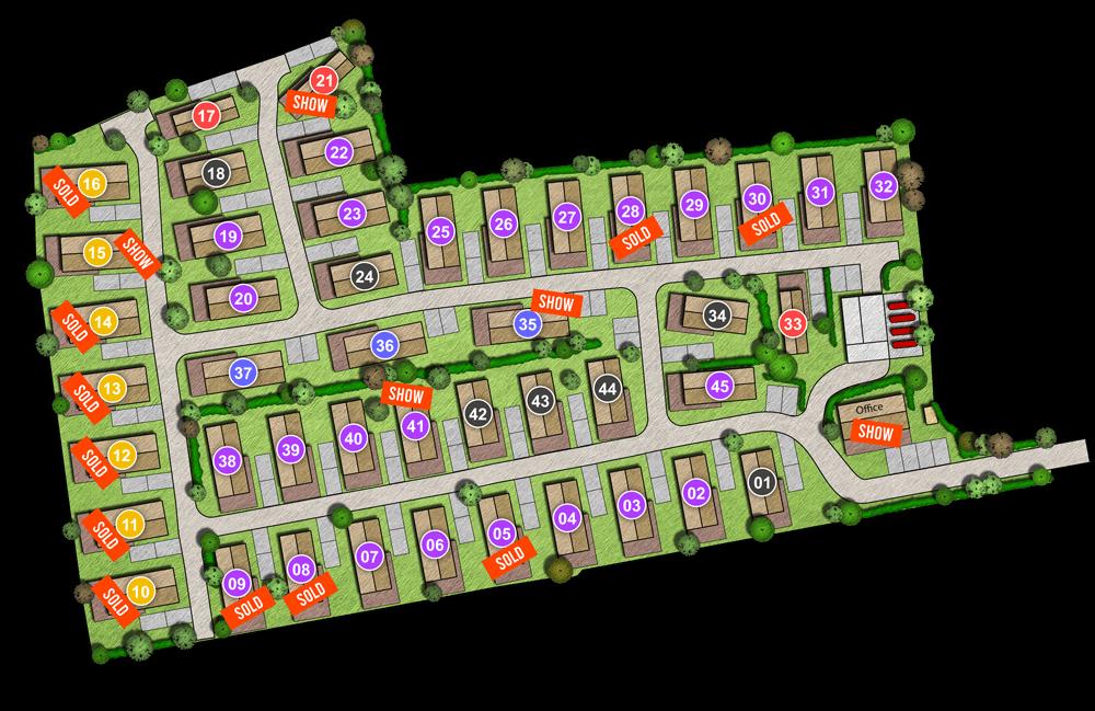 The Poplars - Burnham Market plan
